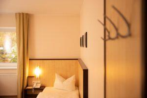 Einzelzimmer Bett - Bergwirtschaft Wilder Mann (bei Dresden)